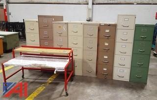 File Cabinets & Rolling Cart