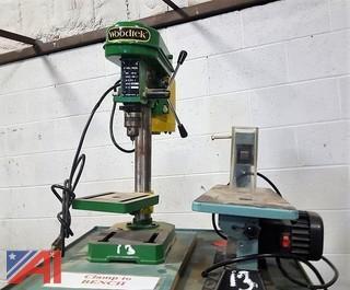Woodtek Drill Press & Delta Scroll Saw