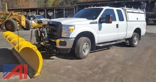 **4% BP** 2015 Ford F-250 Super Duty XL Pickup with Plow