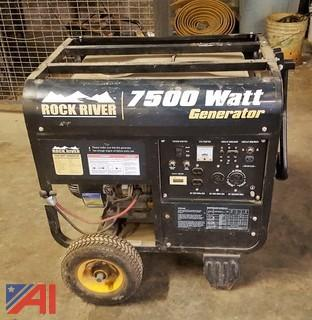 Rock River 7500 Watt Generator
