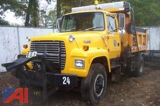 **Lot Updated** 1991 Ford L8000 Dump/Sander Combination
