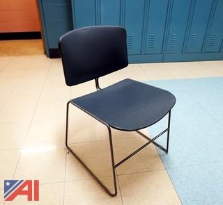 (23) SteelCase MaxStacker Side Chairs
