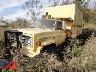 1980 GMC Sierra 7000 Dump Truck