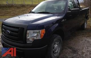 2012 Ford F150 4x4 Pickup Truck