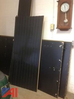 (5) Slotted Boards