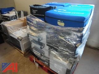 Large Lot of Assorted Printers and More