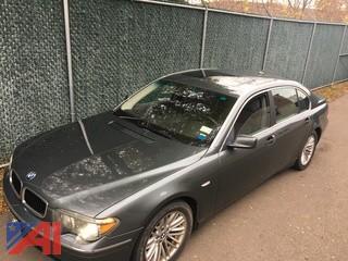 2003 BMW 745 4 Door Sedan