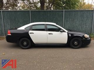 **Hard seat is not included** 2011 Chevrolet Impala 4 Door/Police Car