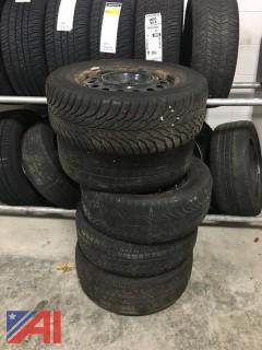 (5) Tire w/Rims