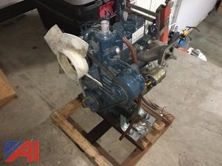 Kubota Diesel Motor, Model Z482