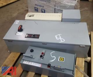 Lot of Electric Panel Boxes