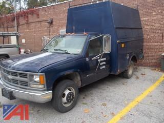 1995 Chevrolet C3500 Utility Truck
