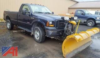 2007 Ford F350 XL Super Duty Off Road Pickup Truck with Plow