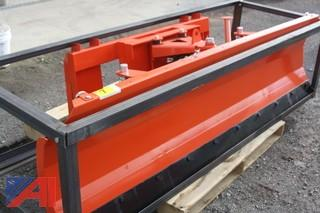 "86"" Skid Steer Snow Plow/Dozer Blade"