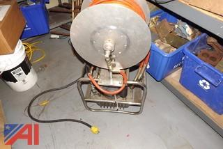 Hurst Generator and Reel with Hose