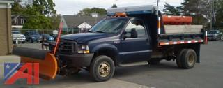 2003 Ford F350 Pickup with Dump/Sander/Plow