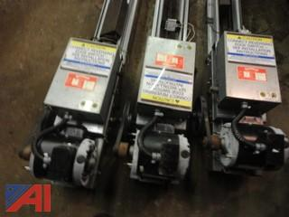 **Items added** Overhead Door Corp Track and Motor Assemblies and Openers