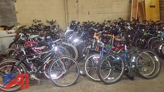 Approximately (80) Assorted Bicycles
