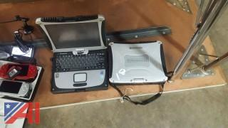 (2) Panasonic Tough Book Computers