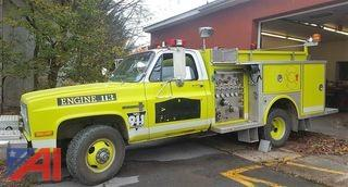 1982 Chevrolet Custom Deluxe CK30 Mini-Pumper Fire Truck