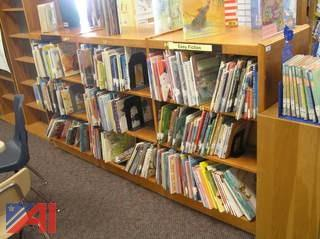 Large Lot of Book Shelves
