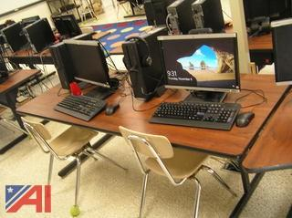 (16) Computer Tables