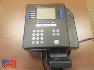 (2) Kronos System 4500 Timeclock with Fingerprint Recognition