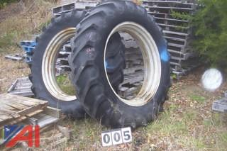 One Set of Tractor Tires
