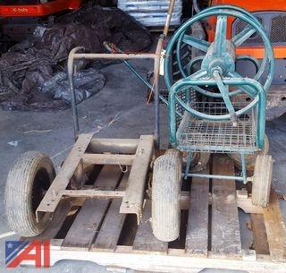 Cart and Hose Reel