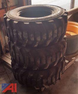 Backhoe Tires and Rim