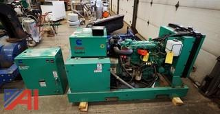 Onan 25kW GenSet Diesel Generator & Transfer Switch