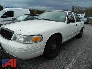 2011 Ford Crown Victoria 4DSD/Police Interceptor