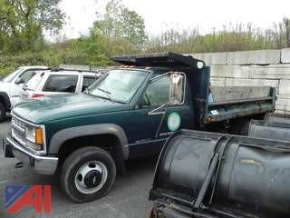 1998 Chevrolet 3500 Pickup with Dump