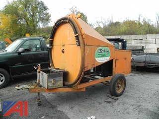 O'Brien Sewer King Trailer Mounted Rod Machine