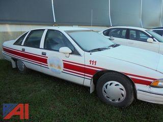 1992 Chevrolet Caprice 4DSD/Police Interceptor