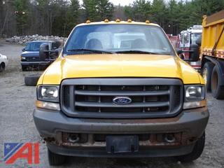 2002 Ford F550 Cab & Chassis