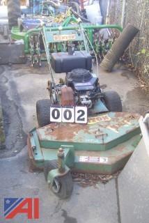 "Bunton 48"" Walk Behind Mower"