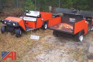 (2) Jacobsen Golf Carts