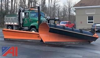 1998 International 2574 Dump Truck with Plow