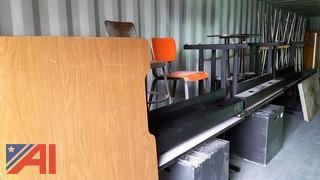Lot of Assorted Classroom Furniture and More