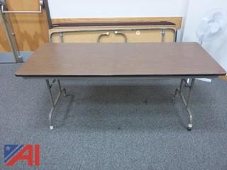 (6) Folding Tables