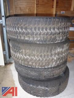 (4) Goodyear Wrangler Tires