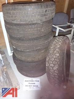 (6) Goodyear Tires and (1) General Tire