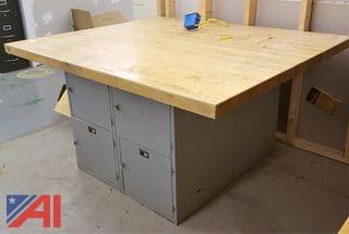 Maple Top Work Table