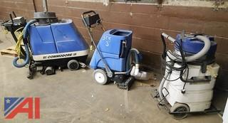 Assorted Windsor Floor Cleaning Machines