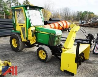 1998 John Deere 855 Tractor with Attachments