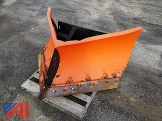 "Skid Steer 60"" V- Plow Attachment"