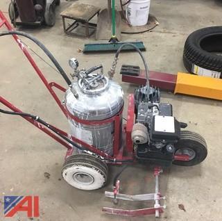 Jiffy Model 5000 Gas Powered Line Striper