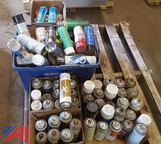Miscellaneous Assorted Aerosol Products