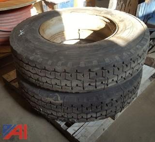 Goodyear Steer Tires on Dayton Rims